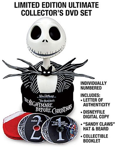 Tim Burton's The Nightmare Before Christmas: Collector's Edition - Ultimate Collector's DVD Set + Digital Copy