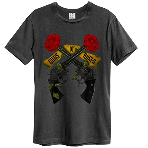 Amplified Guns N Shooting Roses Camiseta para Hombre