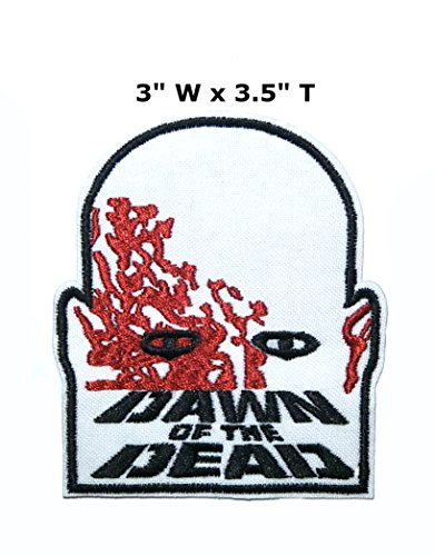 Application classique Halloween Friday the 13th Dawn of the Dead Cosplay badge brodée fer ou Sewn-on Applique Patch