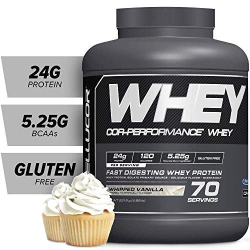Cellucor COR-Performance Protein Isolate Powder Whipped Vanilla 5lb. | 100% Gluten Free + Low Fat...