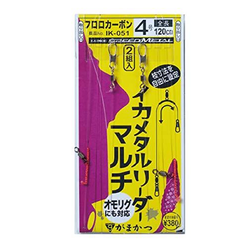 がまかつ(Gamakatsu) イカメタルリーダー マルチ IK051 4-0