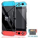 Kailisen Dockable Coque Pour Nintendo Switch avec Ecran Protecteur, Version...