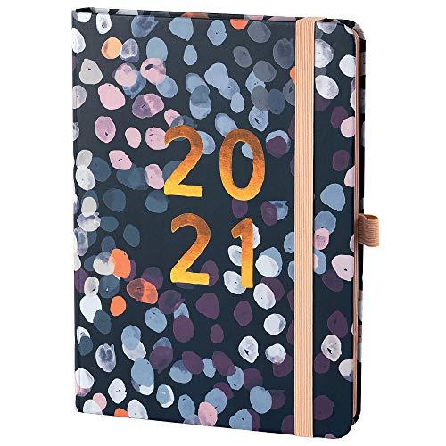 Boxclever Press Perfect Year Kalender 2021 A5 mit Tabs. Terminplaner 2021 von Januar - Dezember 2021. Tolle Familienplaner 2021 mit Monatsübersichten, Budgetseiten, Einkaufslisten & Stickern