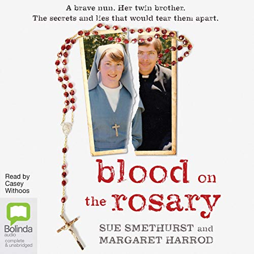 Blood on the Rosary audiobook cover art