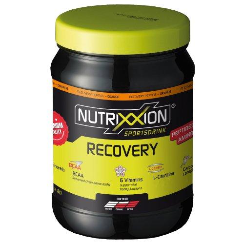Nutrixxion RECOVERY Bebida con AMINO ACIDOS y Carbohidratas, Vitaminas y Minerales Set 700g Dose, FlavorName Orange