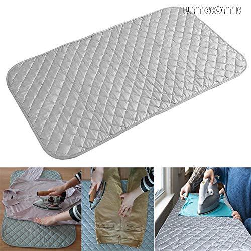 ERFHJ Draagbare tafelbeugelmat voor wasmachine en wasmachine, geschikt voor de droger, afdekking van plank, hittebestendige deken