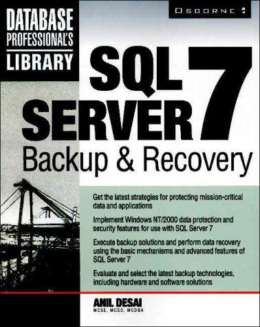 SQL Server 7 Backup & Recovery