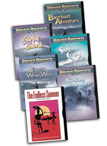 Bruce Brown 6-Pack (The Endless Summer / Barefoot Adventure / Surf Crazy / Surfing Hollow Days / Slippery When Wet /