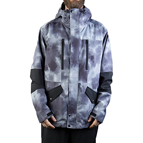 NEFF Men's Daily Jacket, Smoke Crystal, Small