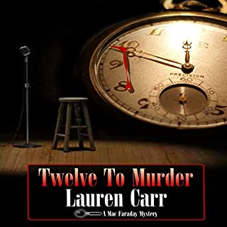 Twelve to Murder audiobook cover art