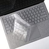 FORITO Keyboard Cover Compatible with 2020 2019 Surface Laptop 3/2018 Released Surface Book 2/ Microsoft Surface Laptop (2017) & Surface Book 2 13.5' and 15'(NOT Fit for Surface Pro 2017) -TPU