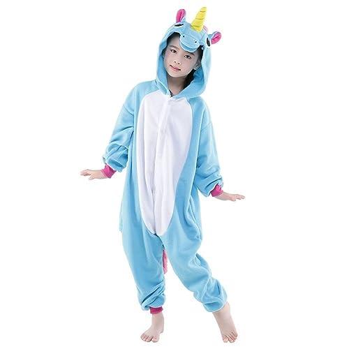 Rainbow Fox Niños Unicornio Pijama Monos Dibujos Animados Animal Disfraz  Cosplay Ropa por Niños 566072c690e9