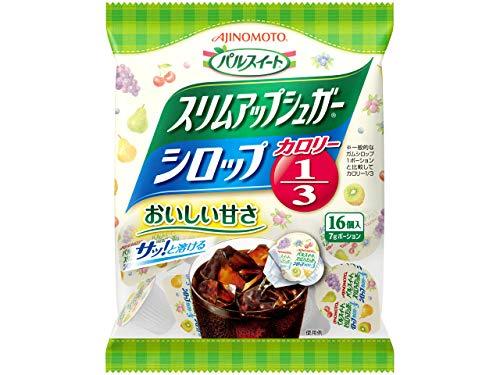 味の素 スリムアップシュガーシロップ 16個入×20袋