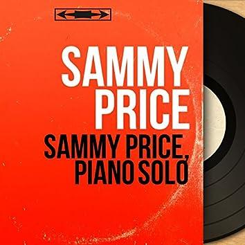 Sammy Price, Piano Solo (Mono Version)
