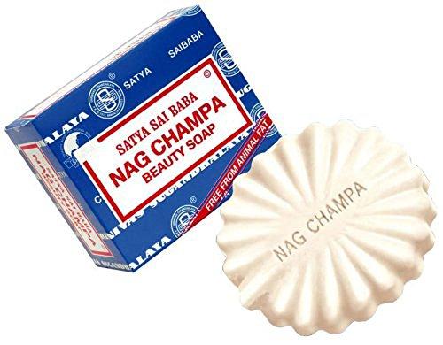 Satya Sai Baba Savon Beauté Champa (150 grammes) (5 onces) Satya Sai Baba Nag Champa Beauty Soap (150 Grams)(5 ounces)