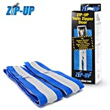 Zip-Up Products ZIP7.3TWB Peel & Stick Zipper Door 84' x 3' Twin Pack
