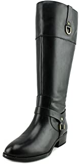 Ralph Lauren Womens mesa Leather Almond Toe Knee High Fashion Boots 5M