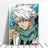 Pintura de diamante 5D Anime japonés Arte de diamante Pintura en lienzo Moderno Bleach Hit Ya Anime Póster Imagen Nordic Retro Sala de estar Arte Decoración de Halloween