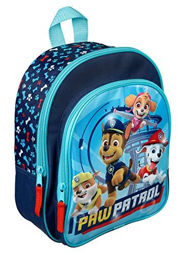 Rucksack mit Vortasche, Paw Patrol, für Schule und Freizeit, ca. 31 x 25 x 10 cm