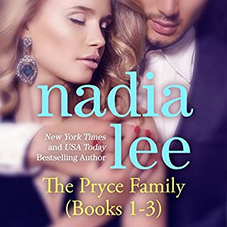 The Pryce Family, Books 1 - 3 audiobook cover art