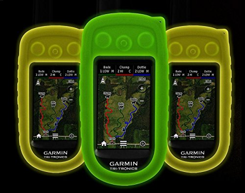 Sparky Pet Co Glow in The Dark Protective Case Cover for The Garmin Alpha 100 Dog Tracking GPS Handheld (Glow Green)