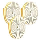 needlid Tira De Puerta, Burlete De EPDM Resistente A La Humedad para Puertas Antirrobo para Puertas De Madera para Ventanas De Aleación De Aluminio para Ventanas De Acero Y Plástico