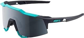 100% Unisex-Adult Speedlab (61001-256-61) Speedcraft-Soft Tact Celeste Green/Cement Grey-Black Mirror Lens, Free Size)