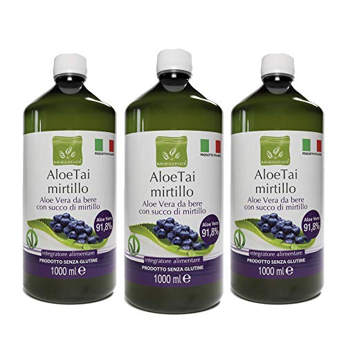 Jus d'Aloe Vera aux Myrtilles - Made In Italy - 3L