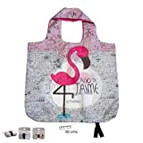 PracticDomus Bolsa Tote Bag Plegable de Gran Capacidad 100% Poliéster, Reutilizable y Original (Algo de Jaime)