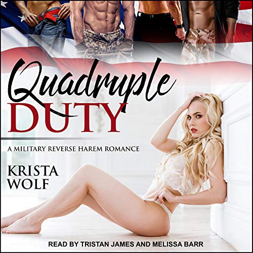 Quadruple Duty: A Military Reverse Harem Romance audiobook cover art