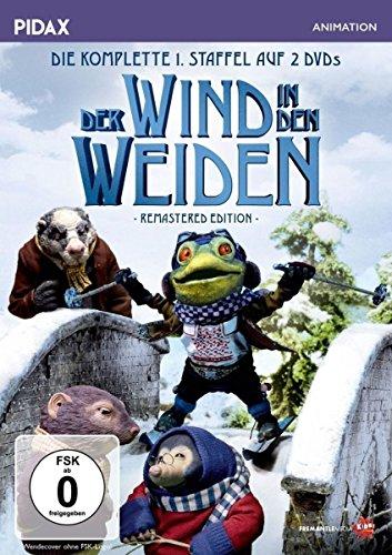 Der Wind in den Weiden, Staffel 1 - Remastered Edition (The Wind in the Willows) / Die komplette 1. Staffel nach dem Buchklassiker von Kenneth Grahame (Pidax Animation) [2 DVDs]
