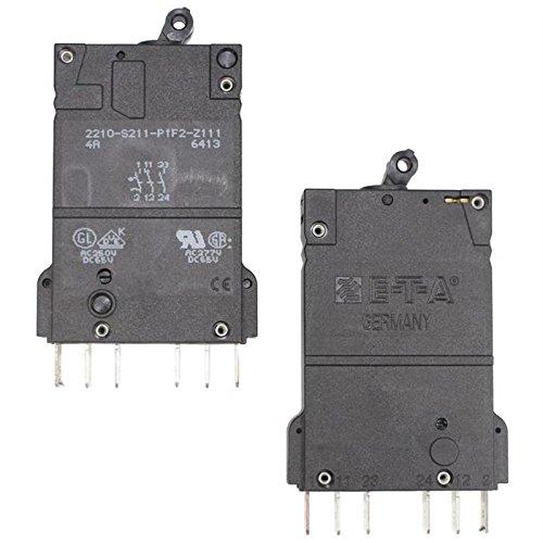 ETA Schutzschalter 250V 4A ; 2210-S211-P1F2-Z111