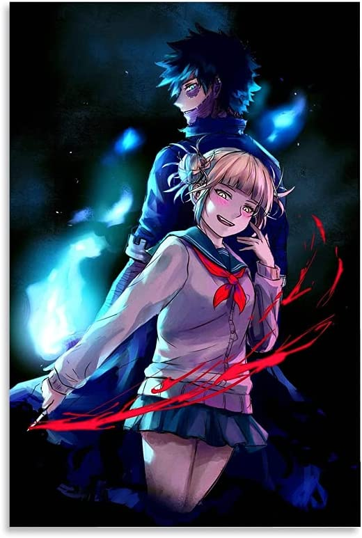 woplmh Super Special SALE held Anime Posters My Hero Academia Himiko Toga Ranking TOP7 and Dabi Poste
