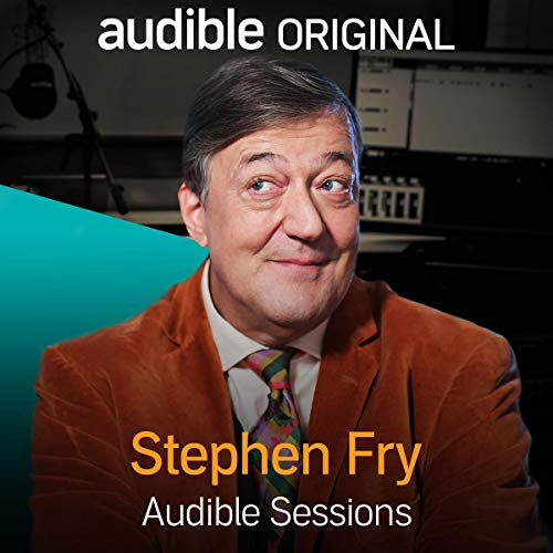 Stephen Fry audiobook cover art