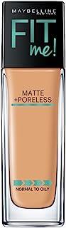 Maybelline Fit Me Matte+Pore Foundation (Pump), 30 ml
