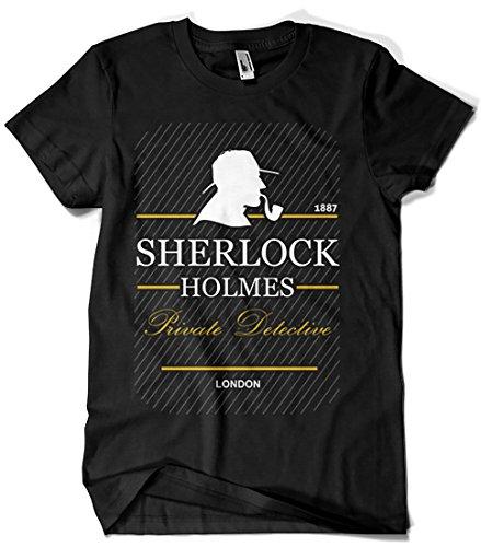 Camisetas La Colmena 4913-Parodia Sherlock Holmes (Yolanda M.)