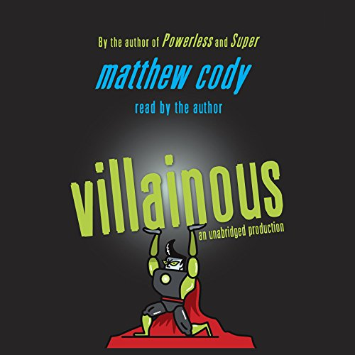 Villainous audiobook cover art