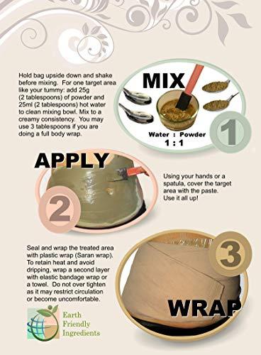 DIY Body Wrap: SPA Formula for Home Use: Seaweed, Healing Clay, Garcinia Cambogia, and Dead Sea Salt