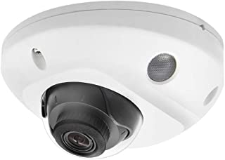 4MP PoE & WiFi Mini Dome Security IP Camera DS-2CD2543G0-IWS 2.8mm Lens,Outdoor Indoor Home Video Surveillance Network Camera with Audio,10m IR Day/Night,ONVIF,IP66 Waterproof,IK08 Vandal-Proof