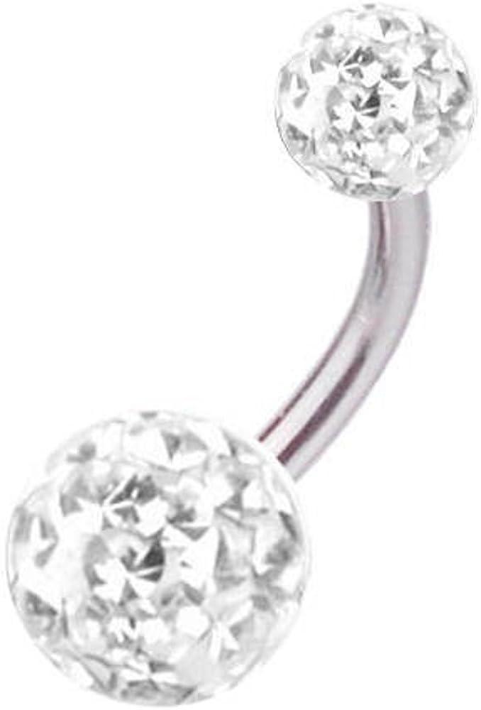 Accessoire piercing tige de 1,2 mm 16 gauge longueur 14 mm