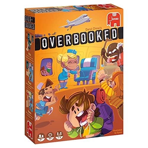Jumbo 19738 Overbooked Origineel Bordspel 1 - 4 spelers vanaf 8 jaar Nederlands Spel Kinderen