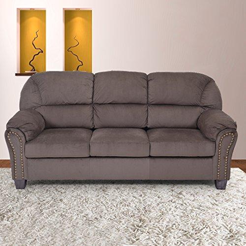 Royaloak Gloria Three Seater Sofa (Brown)
