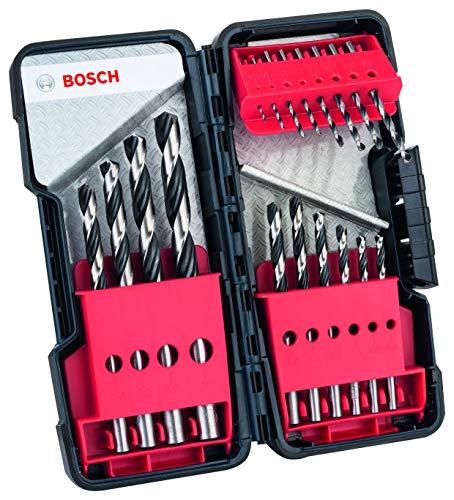 BOSCH 2608577350 - Broca para metal HSS PointTeQ 18pcs ToughBox set