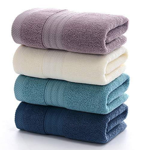 Mettime – Toallas de mano 100% algodón peinado con hilado de anillos, ultrasuaves y muy absorbentes, grandes y gruesas, toallas de mano en calidad de hotel y spa (4 unidades)