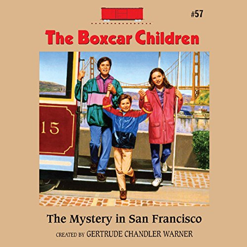 The Mystery in San Francisco audiobook cover art