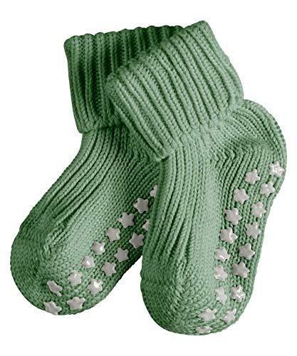 FALKE Unisex Baby Cotton Catspads B SO Socken, Grün (Mineral Green 7016), 74-80