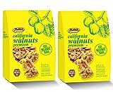 Tulsi California Walnuts Kernels Premium Vacuum Pack, 2 X 200 g
