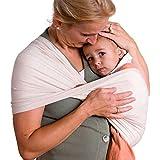 Babytuch - El portabebés sin nudos * No se enrolla, sin atar, sin nudos * Simplemente introduzca y coloque el niño * Certificado Öko-Tex Standard 100 * Fabricado en Austria (4, natural).