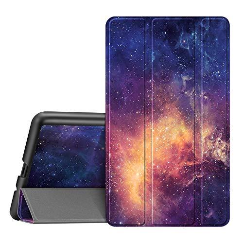 Fintie Hülle für Lenovo Tab M7 (3. 2. 1. Gen) 7.0 Zoll, Superdünne Superleicht Flip Tasche mit Ständer Funktion & magnetischer Abdeckung für Lenovo Tab M7 TB-7306X / TB-7305F, Die Galaxie