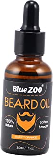 MagiDeal Beard Oil Conditioner Natural and Organic Ingredients Softens & Strengthens Beards and Mustaches for Men 30ml - Sweet Orange